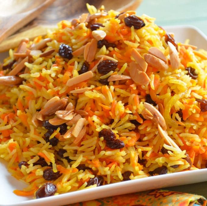 A Rosh Hashana Family Favorite: Sweet Basmati Rice With