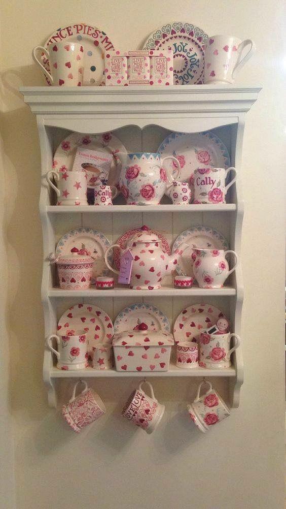 Beautiful Collection Emma Bridgewater Pottery Mug Display Shabby Chic Decor