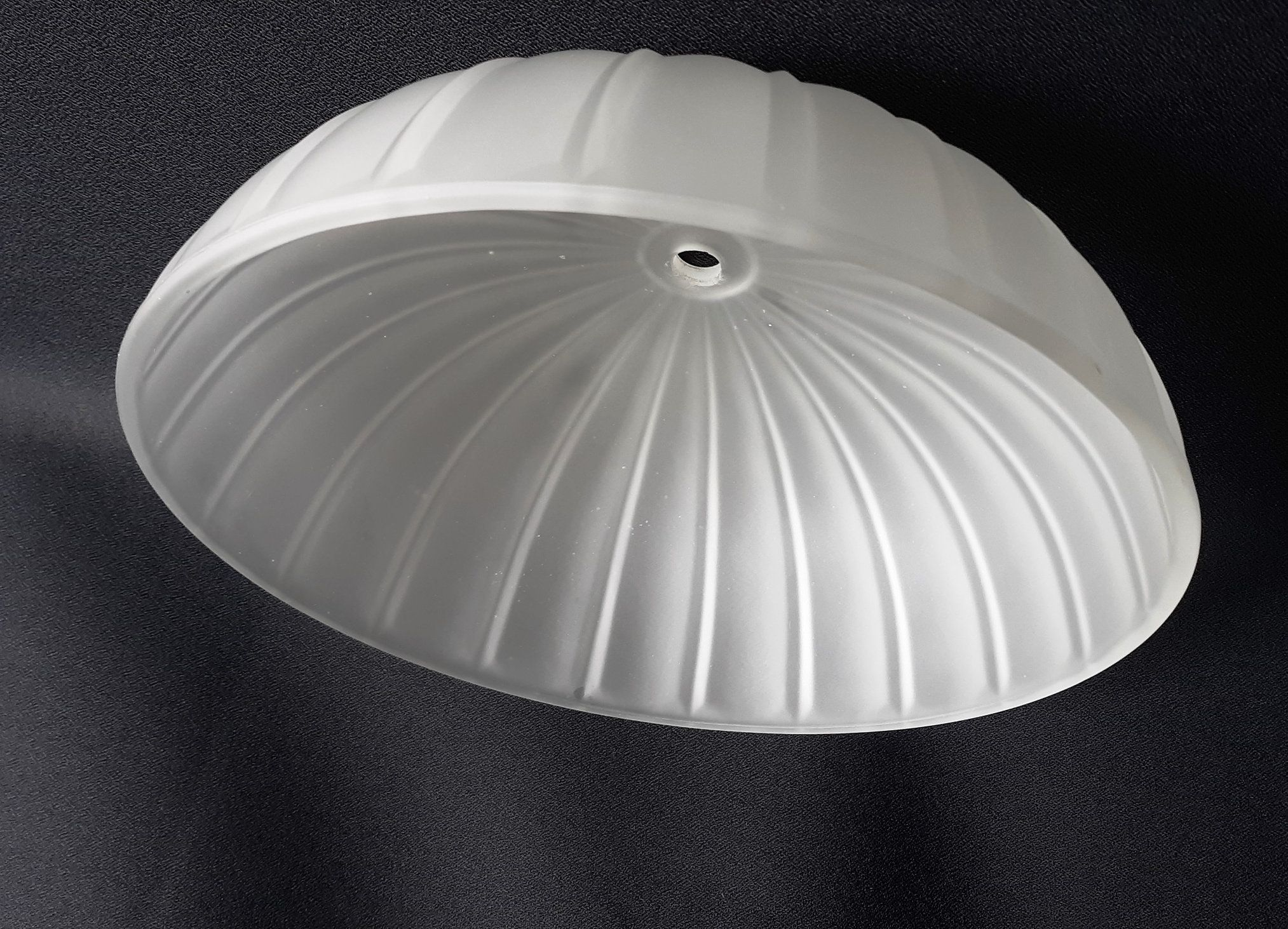 Vintage Frosted Lamp Shade Ceiling Light Globe Round Domed In 2020 Frosted Lamp Retro Lighting Ceiling Lights