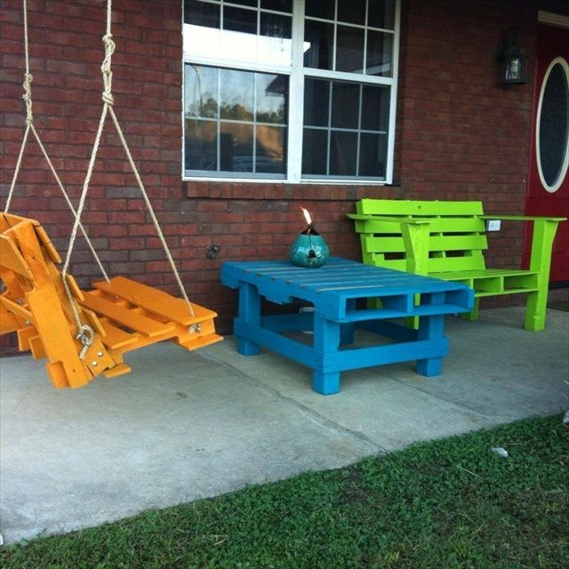 Garden Furniture Out Of Crates 23 super smart ideas to transform old pallets into functional