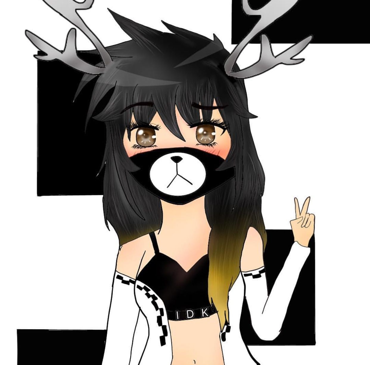 I Drew My Roblox Character My Roblox Roblox Character