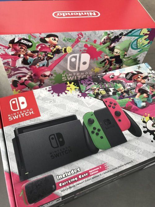 Win a Splatoon Nintendo Switch Console Bundle {US} (11/22