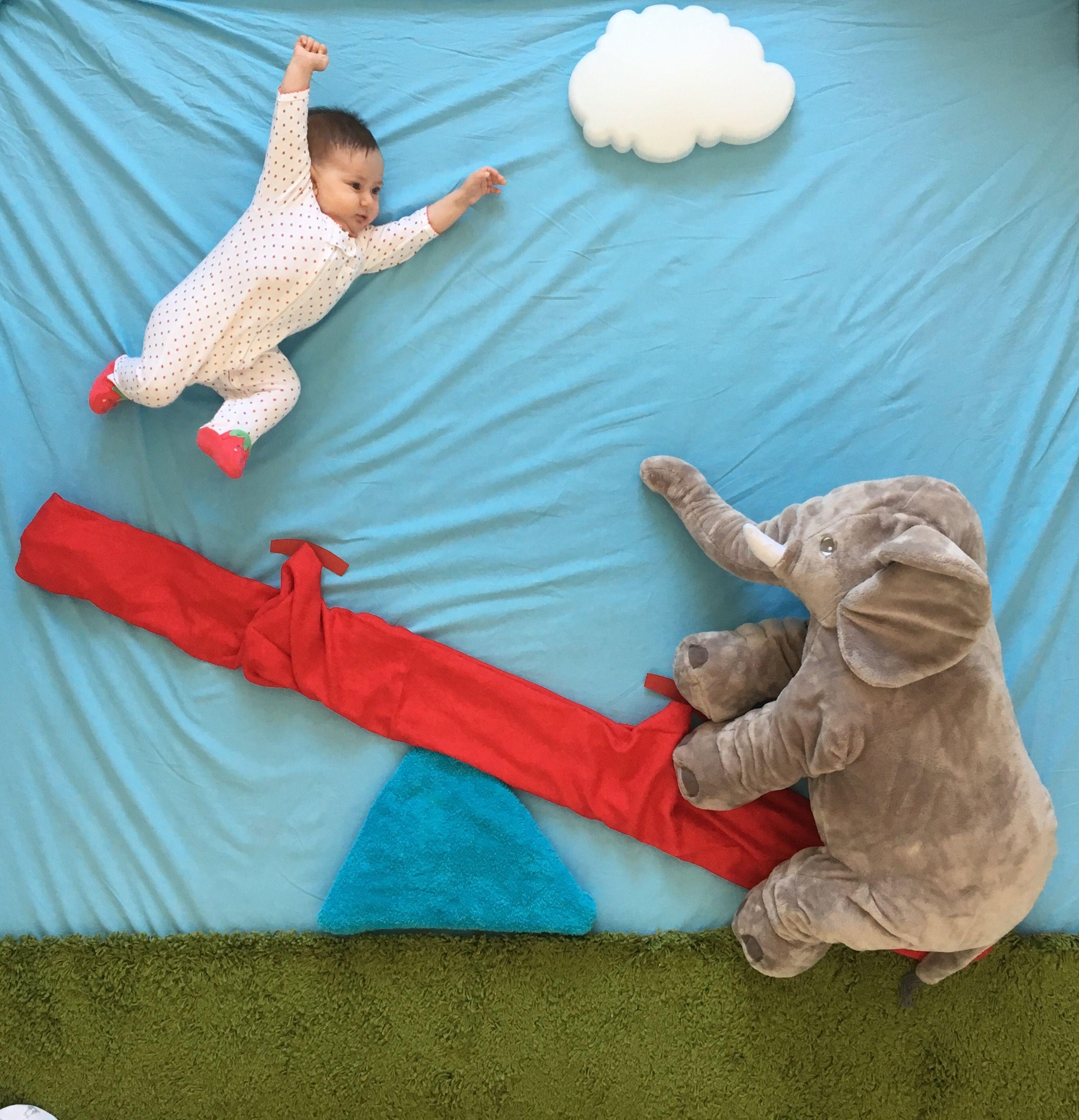 wippen mit elefant megas idee shooting zu hause baby pinterest. Black Bedroom Furniture Sets. Home Design Ideas