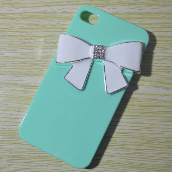 bow iphone 5 case pearl iPhone 4 case  Unique iPhone by EvaFashion, $8.90