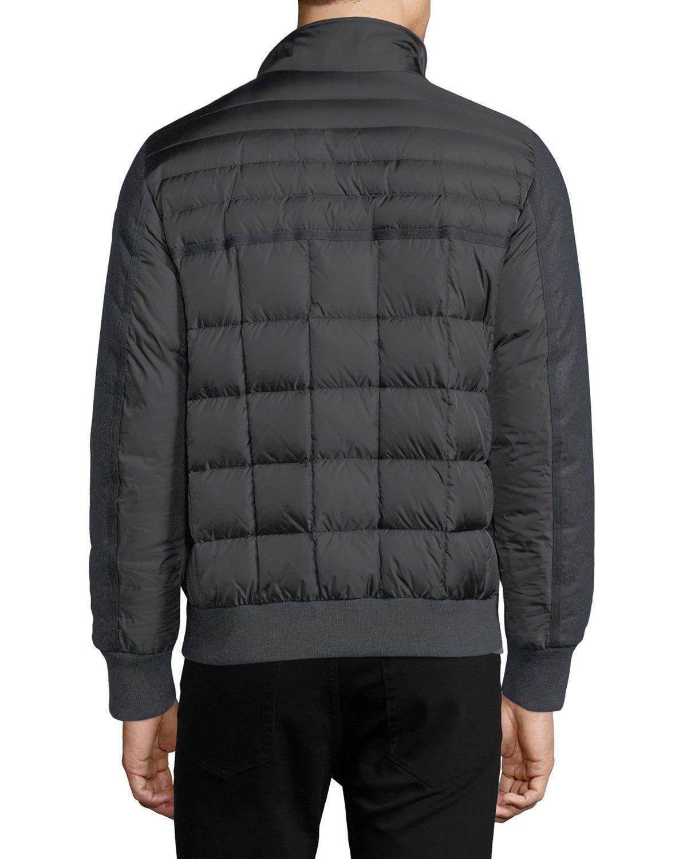 296a96530 Moncler Aramis Wool-Paneled Nylon Puffer Jacket | moncler | Puffer ...