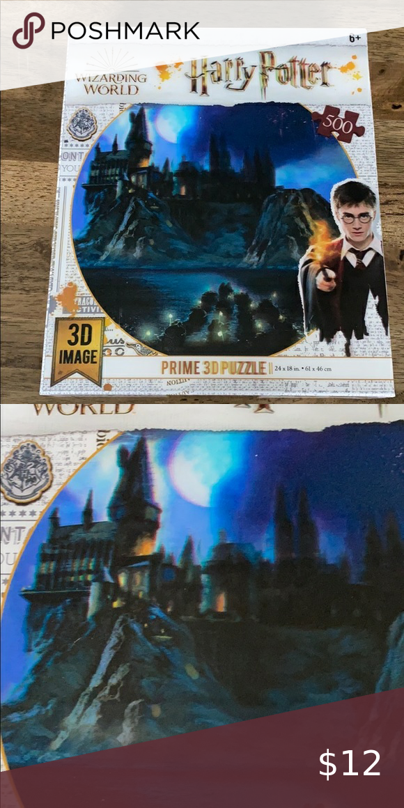 3d Harry Potter Puzzle In 2020