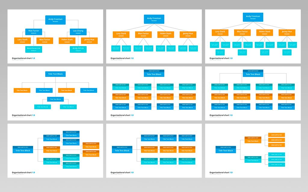 Organizational Chart And Hierarchy Presentation Keynote Template 70617 Organizational Chart Keynote Template Org Chart