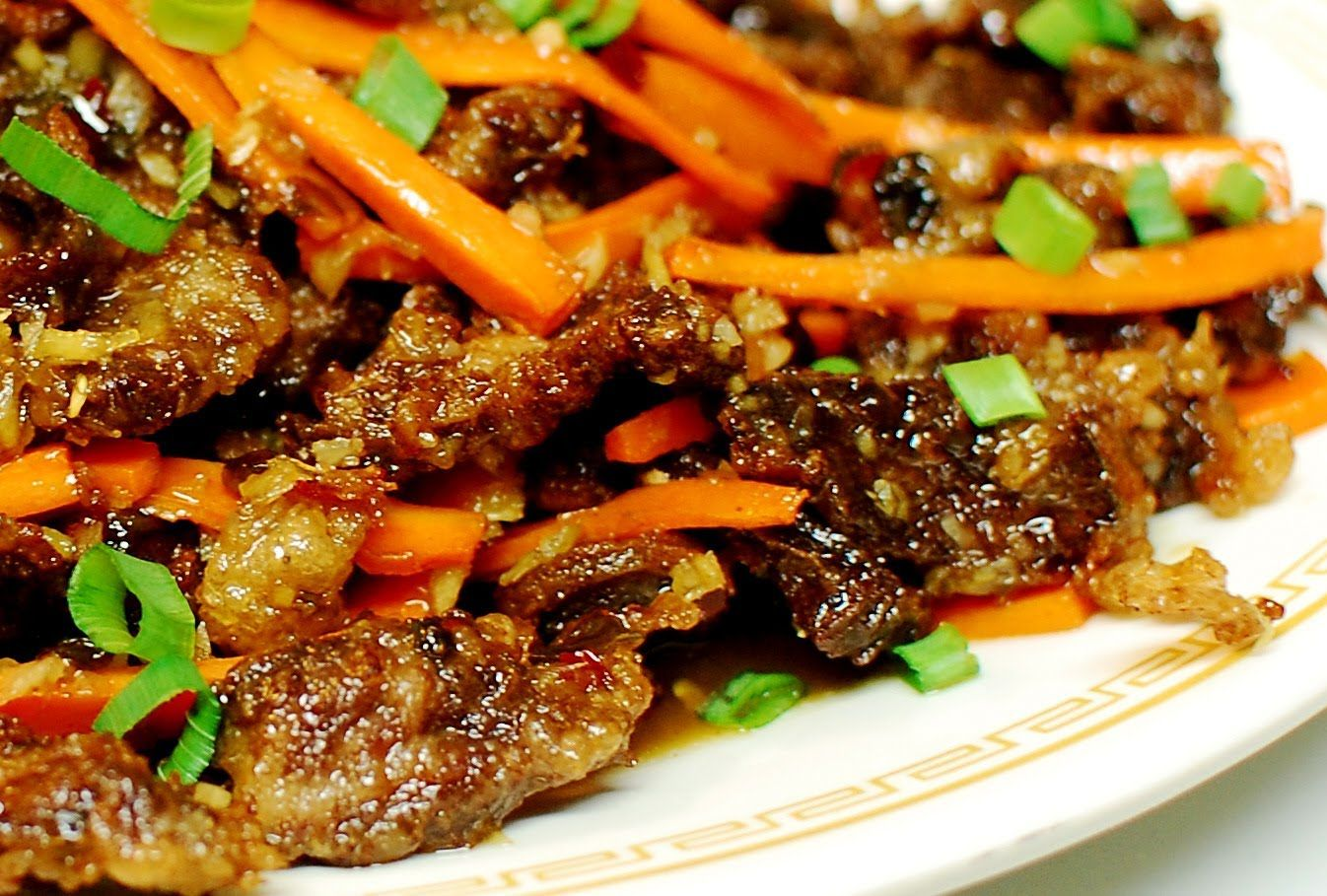Asian Ginger Beef Ginger Beef Chinese Cooking Beef Recipes