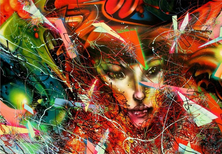 10 ARTISTS THAT PAINT WOMEN - David Choe http://www.widewalls.ch/10-artists-that-paint-women/david-choe/ http://www.widewalls.ch/10-artists-that-paint-women/ #urbanart  #streetart  #murals #contemporaryartist #DavidChoe
