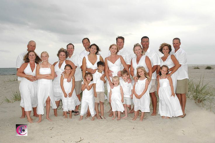 Large Group Pictures On The Beach