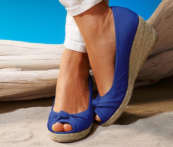 Topánky peep toe