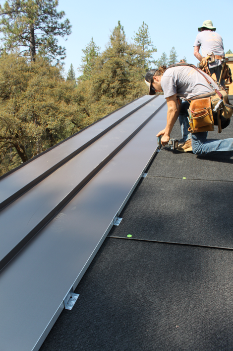 Wrapped In Metal Roofing And Siding In 2020 Metal Roof Standing Seam Metal Roof Roofing