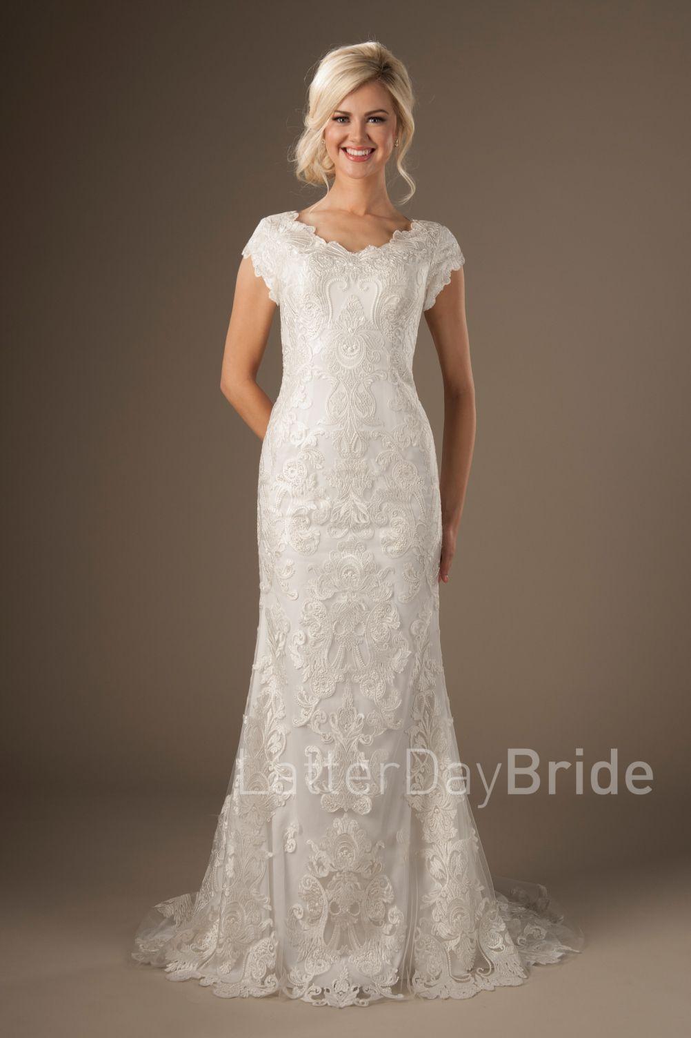 Modest lace wedding dresses womenus dresses for wedding guest
