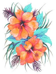 Image Result For Watercolor Hawaiian Flower Tattoo Hawaiian Tattoo Hawaiian Flower Tattoos Flower Spine Tattoos