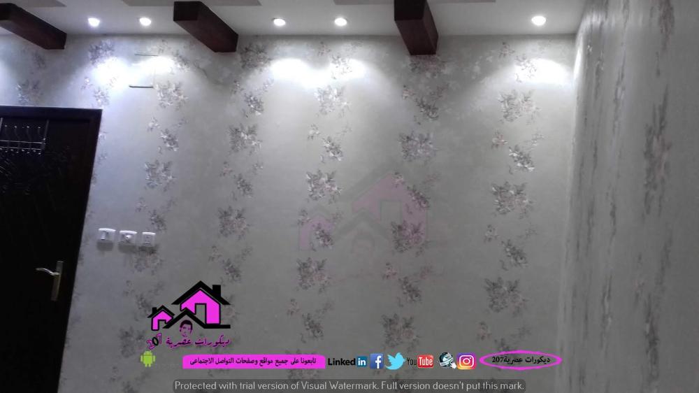 ورق جدران كلاسيك كورى وايطالى وسابقة اعمالنا فى الديكور بالسعودية Visual Blog Posts Blog