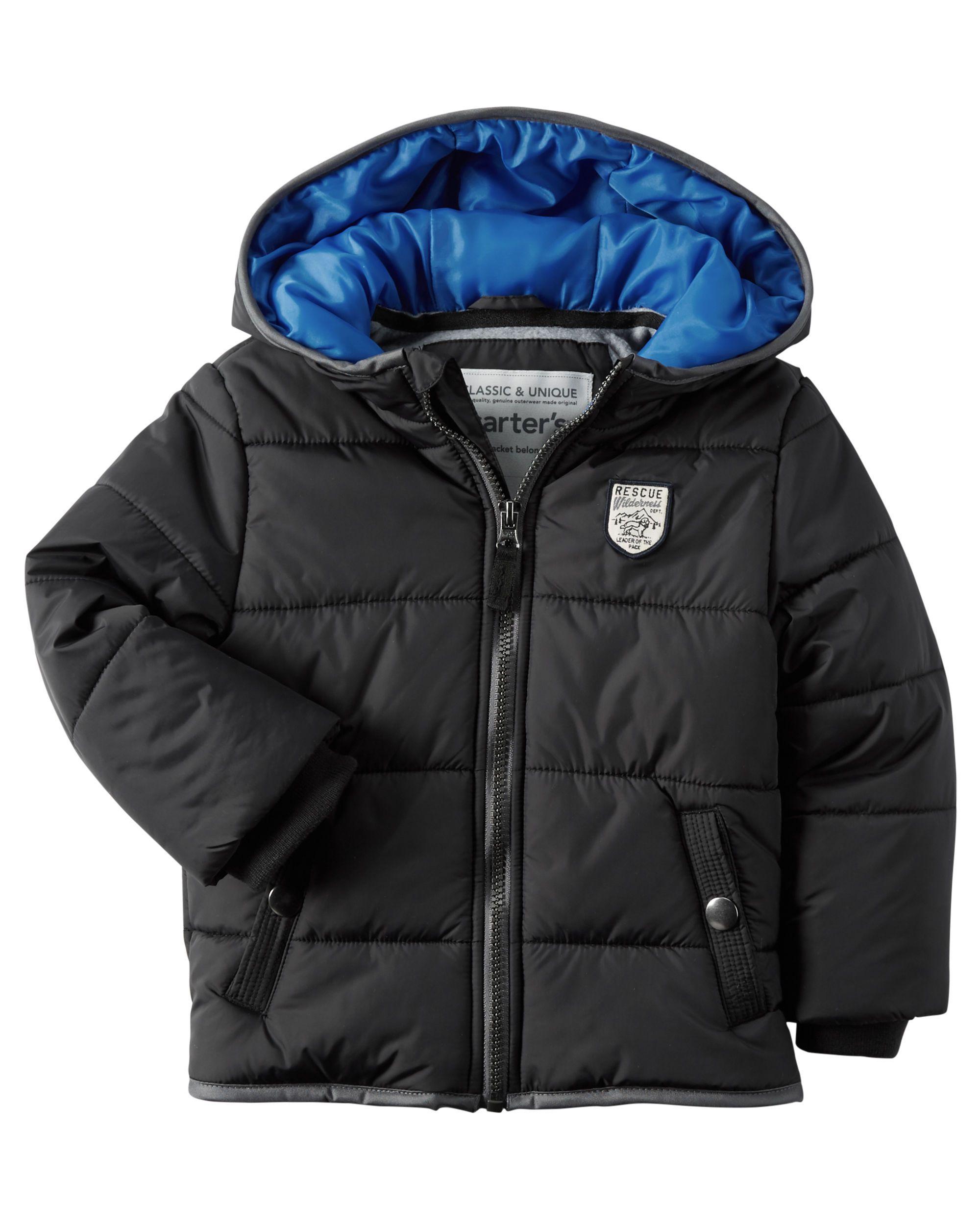 Fleece Lined Puffer Jacket Baby Boy Jackets Kids Fleece Kids Jacket [ 2500 x 2000 Pixel ]
