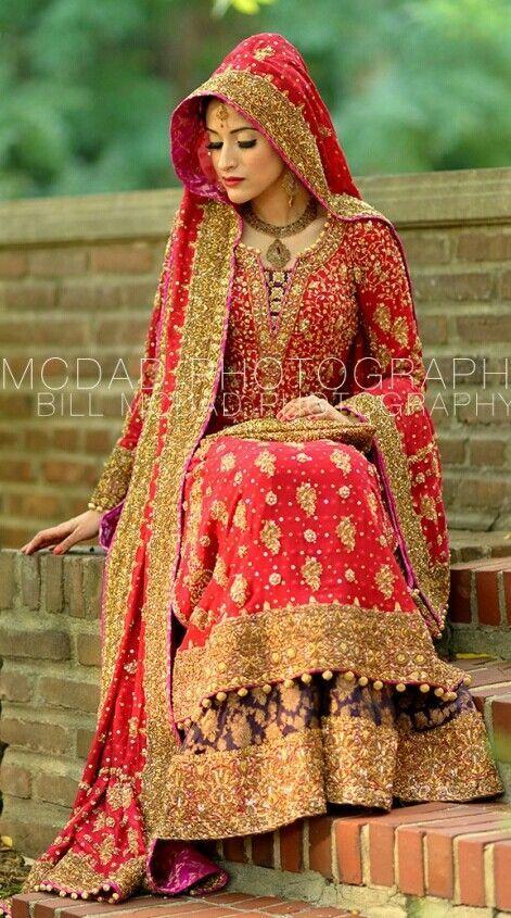 Pakistani Indian Bridal Wedding Dresses 2015 2016