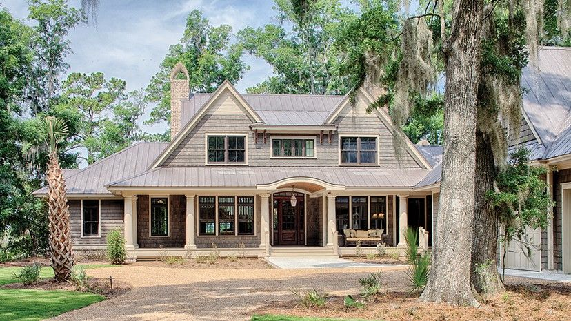 Incroyable Traditional Low Country Design HWBDO77021 + Shingle Style From  BuilderHousePlans.com 5 Bedrooms, 2