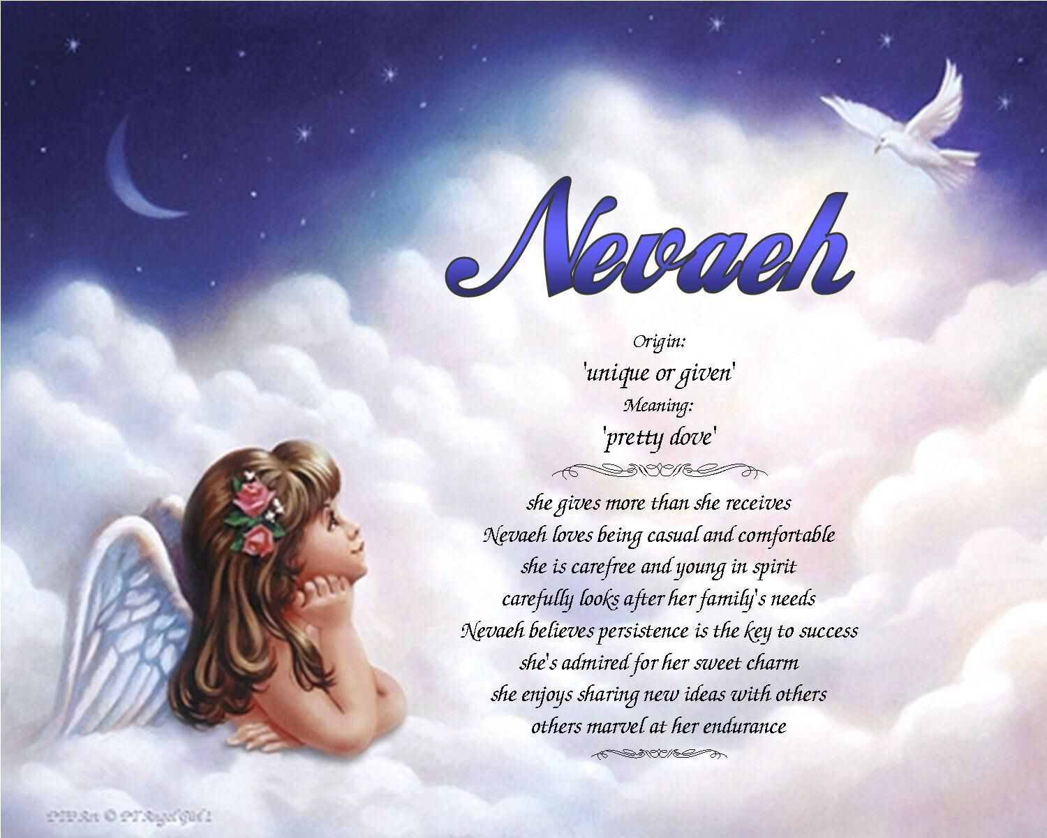 Nevaeh: Baby Name, Meaning &Origin | Parents