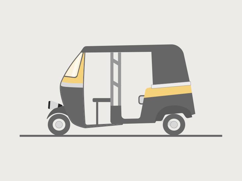 Auto Rickshaw Illustrations Drawings Drawing For Kids Art