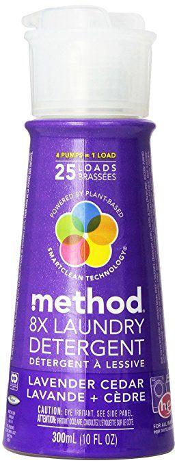 Method 8x Concentrated Laundry Detergent 25 Loads Lavender Cedar