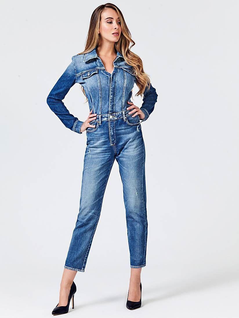 Veste jean femme guess – Vêtements élégants modernes