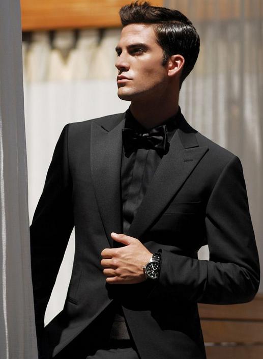 Prom tuxedos for mens All black suit, Tuxedo for men