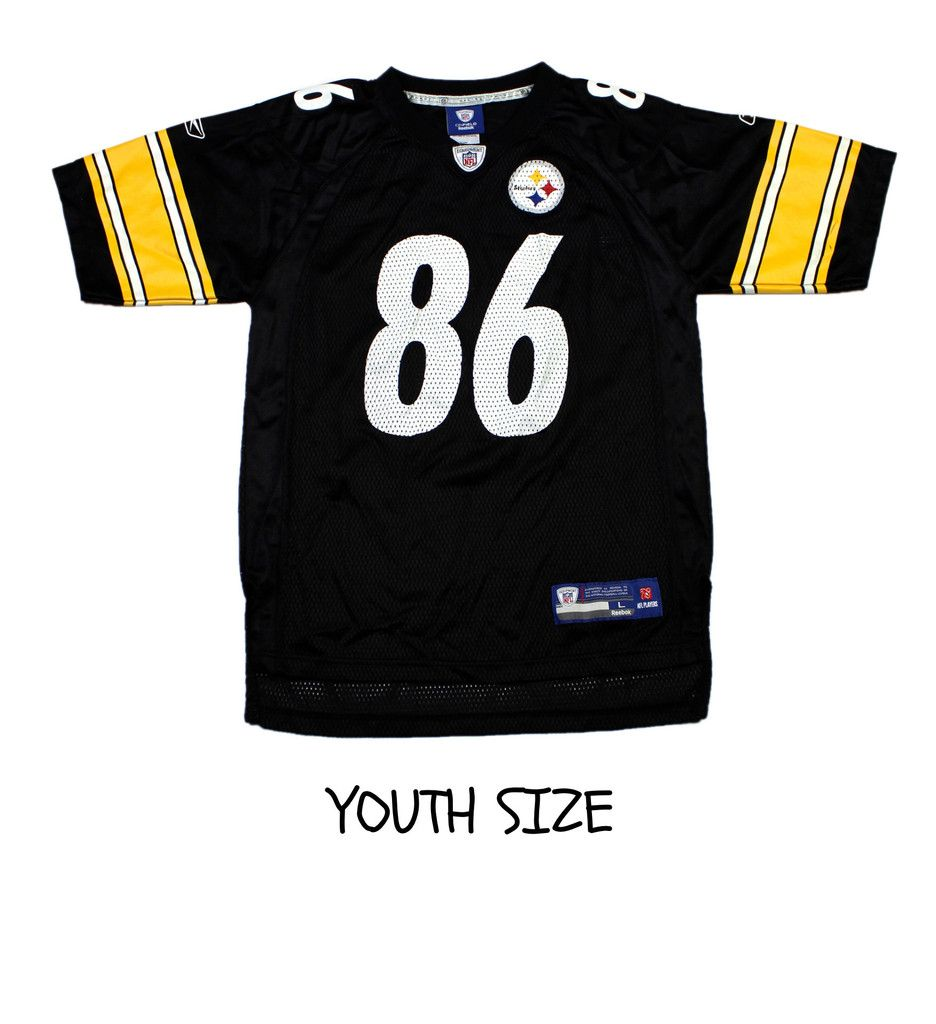 huge discount 2d5a2 27e7f Reebok Pittsburgh Steelers #86 Hines Ward NFL Jersey YOUTH ...