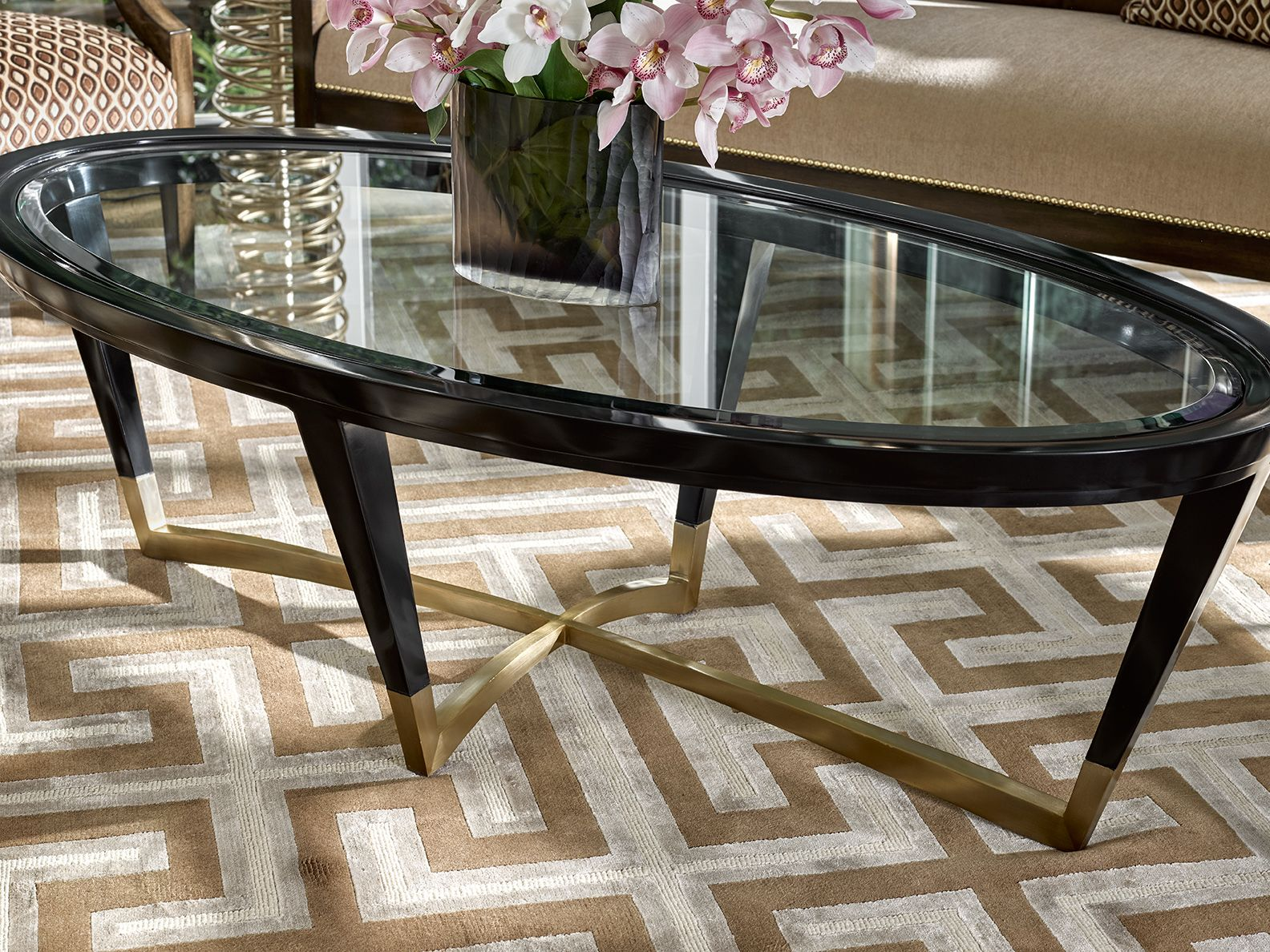 Marge Carson Dining Tables The Beautiful Aria Dining Room Carson By Margecarson Carson