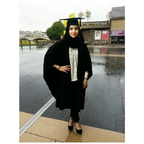finally graduated in business management science