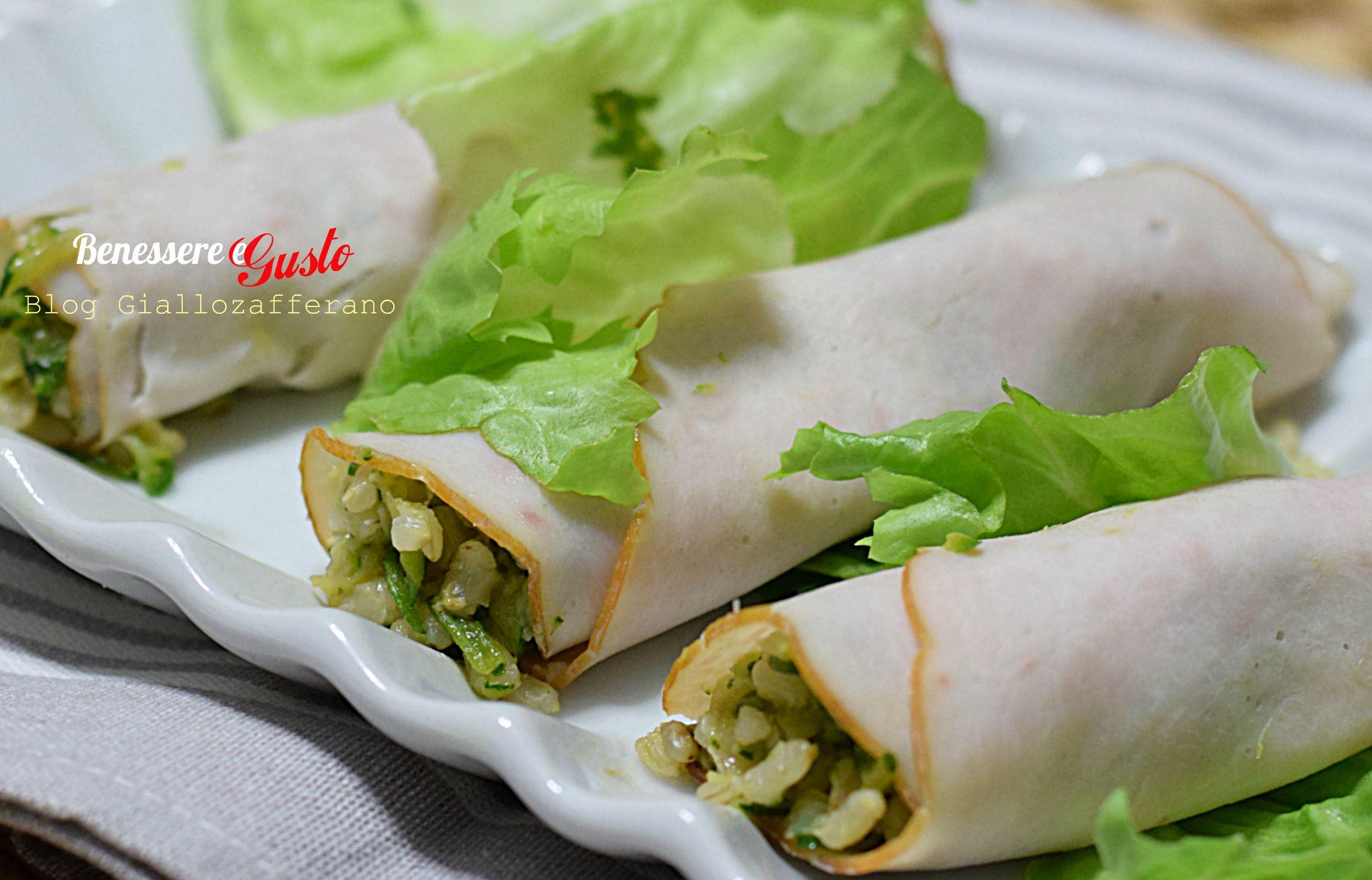 Involtini di Tacchino Light ricetta | Benessere e Gusto blog