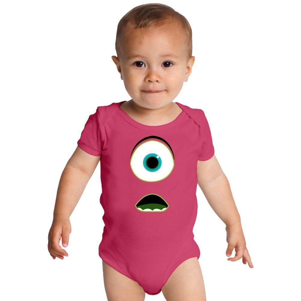 Monsters University Mike Baby Onesies