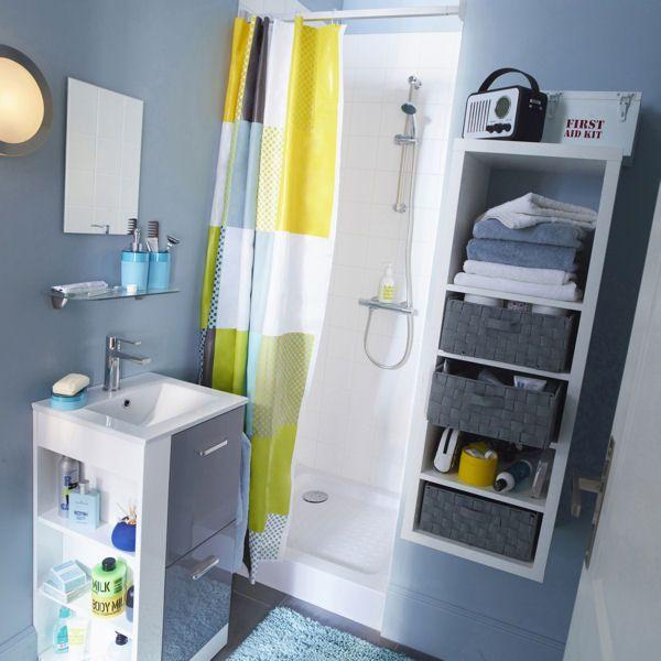 Le bon mobilier pour une petite salle de bains Small spaces