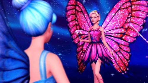 Barbie Movies Images Mariposa With Her New Wings Hd Wallpaper And