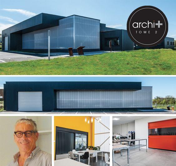 C'est toujours un sujet intéressant que de devoir intégrer un site de production, stockage, tertiaire, d'une entreprise particulièrement spécifique... Architecte : YVAN RIVES. #archiplus