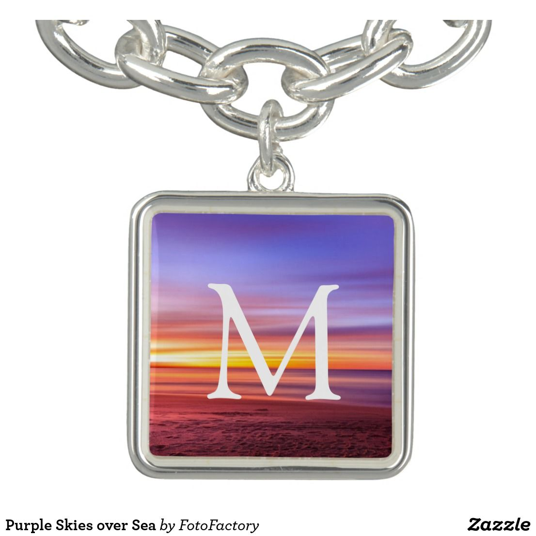 Purple skies over sea bracelets jewelry pinterest purple sky