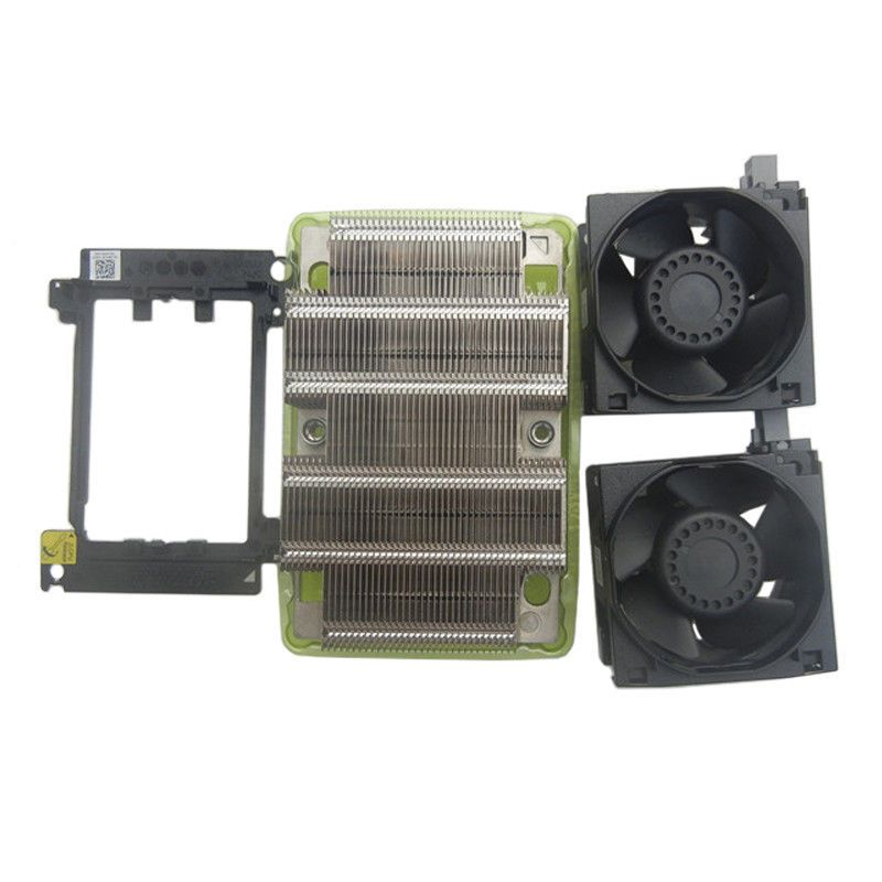 New Dell Server R740 CPU Upgrade Kit Heatsink 0C6R9H,Fan 0N5T36 Clip 0XPDVP