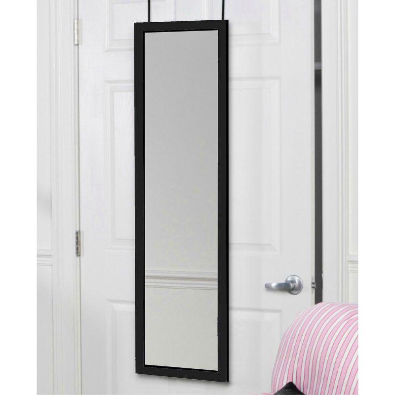 Mirrotek Over The Door Wall Mounted Full Length Dressing Mirror Dm1448 Mirror Door Over The Door Mirror Dressing Mirror