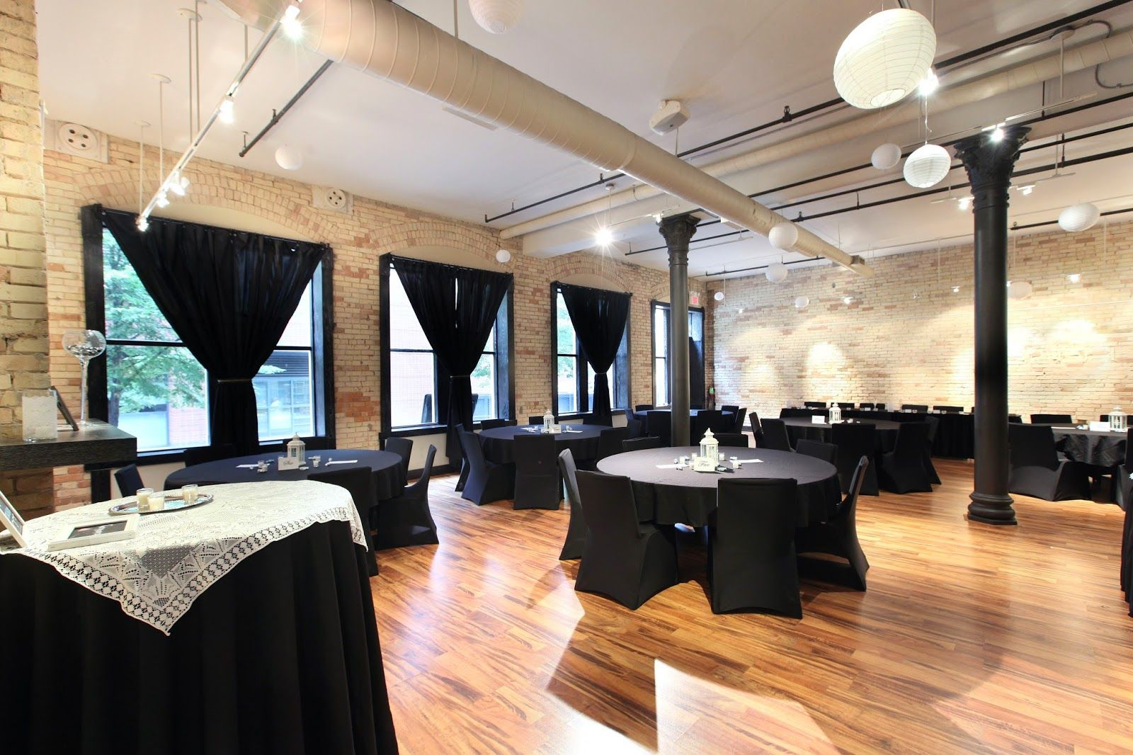 Gorgeous space available for event rentals from ceremonies to intimate receptions.
