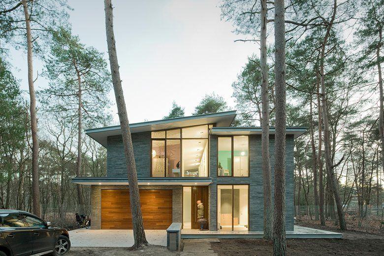 Villa kerckebosch engel architecten residential pinterest