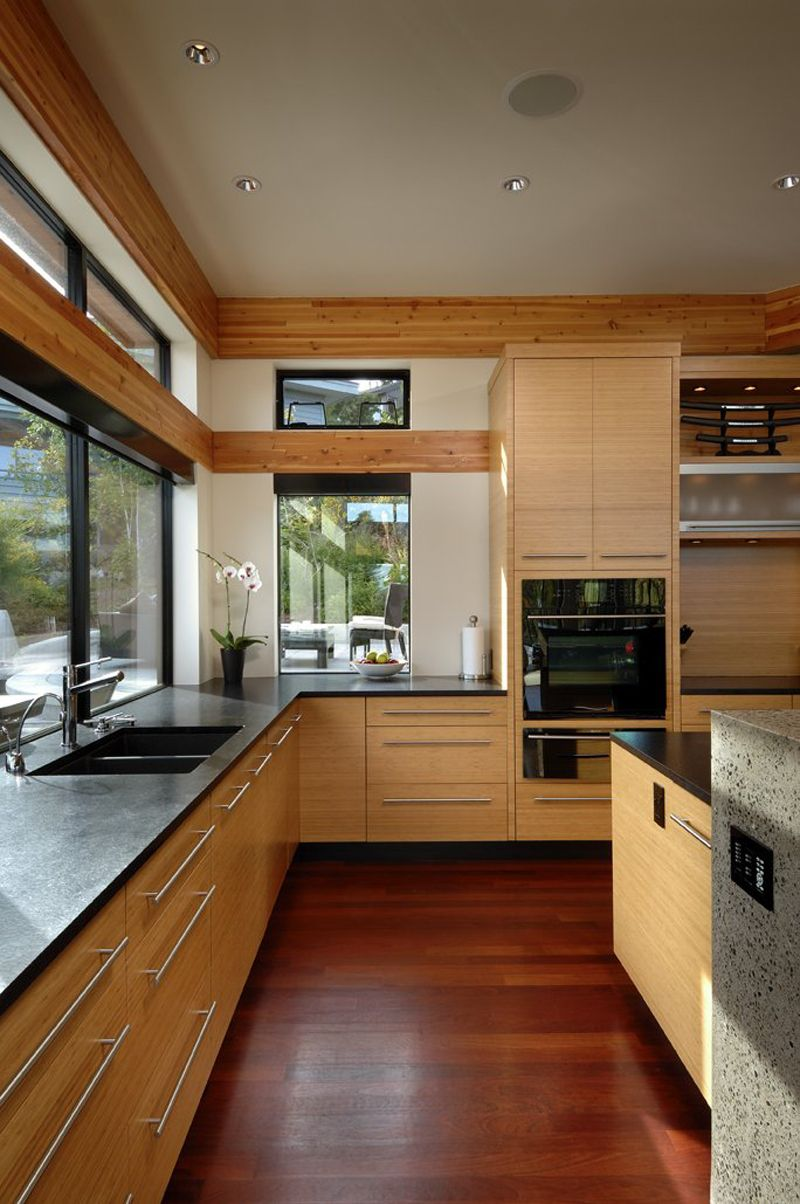 Kitchen window ideas modern  armada house by keith baker perfect for relaxing and entertaining
