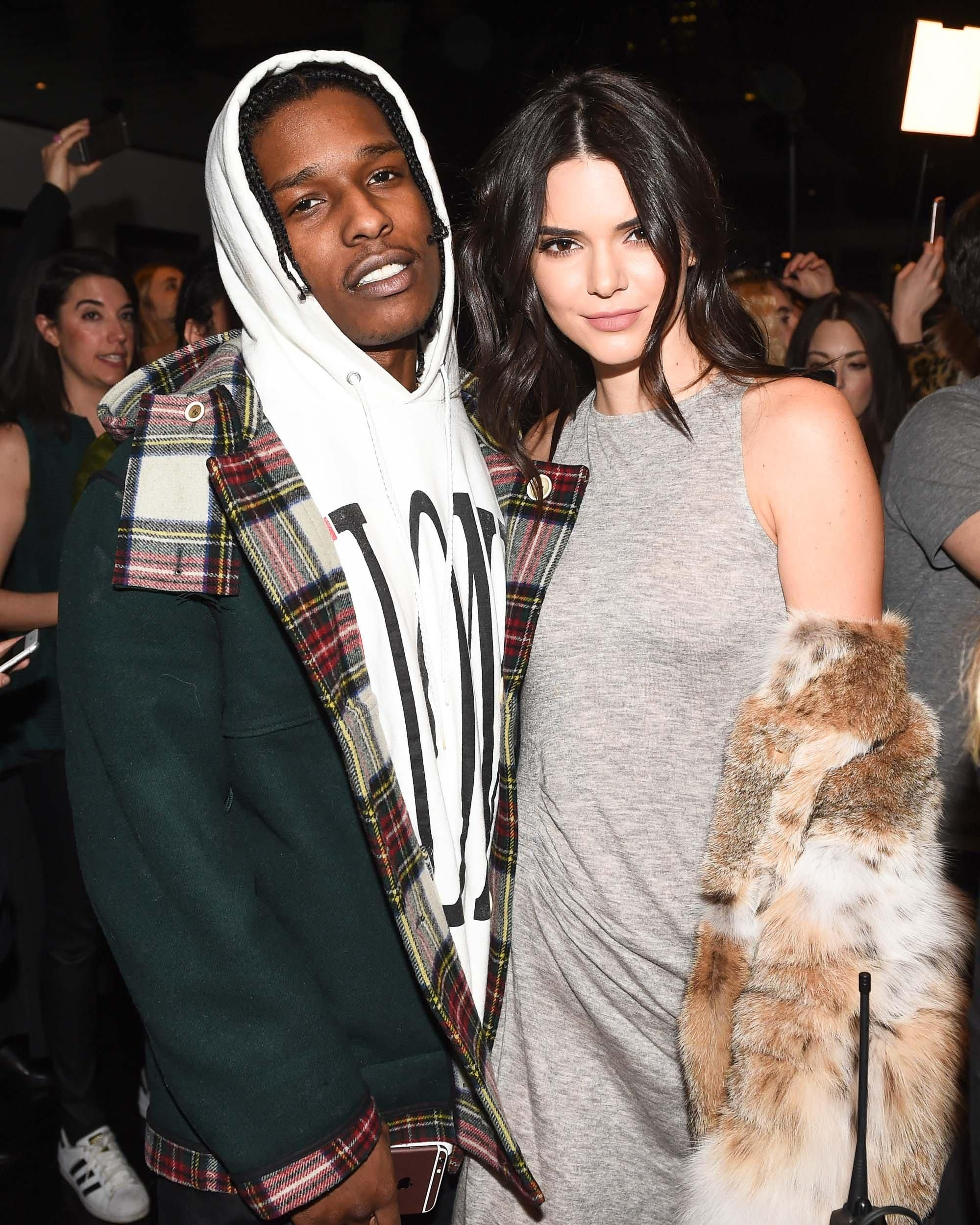 Aap rocky and kendall jenner parties pinterest launch party asap rocky and kendall jenner at the kendall kylie spring 2016 collection launch february kristyandbryce Images