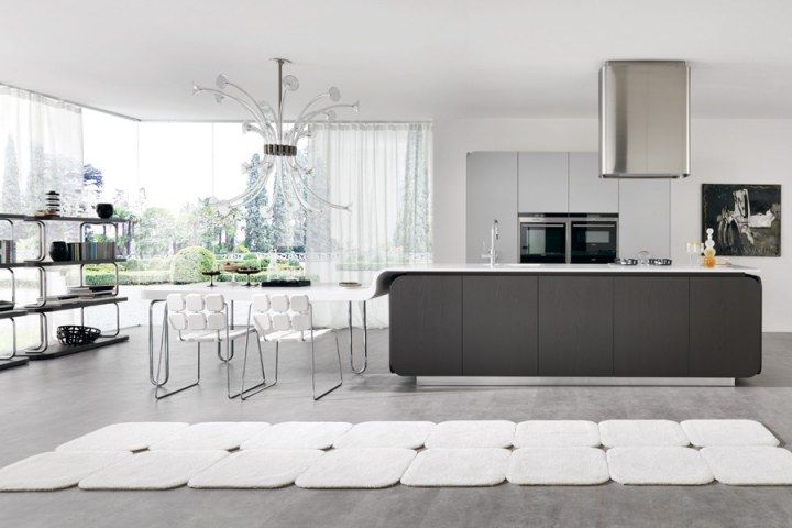 Captivating Flowing Open Interiors From Euromobil