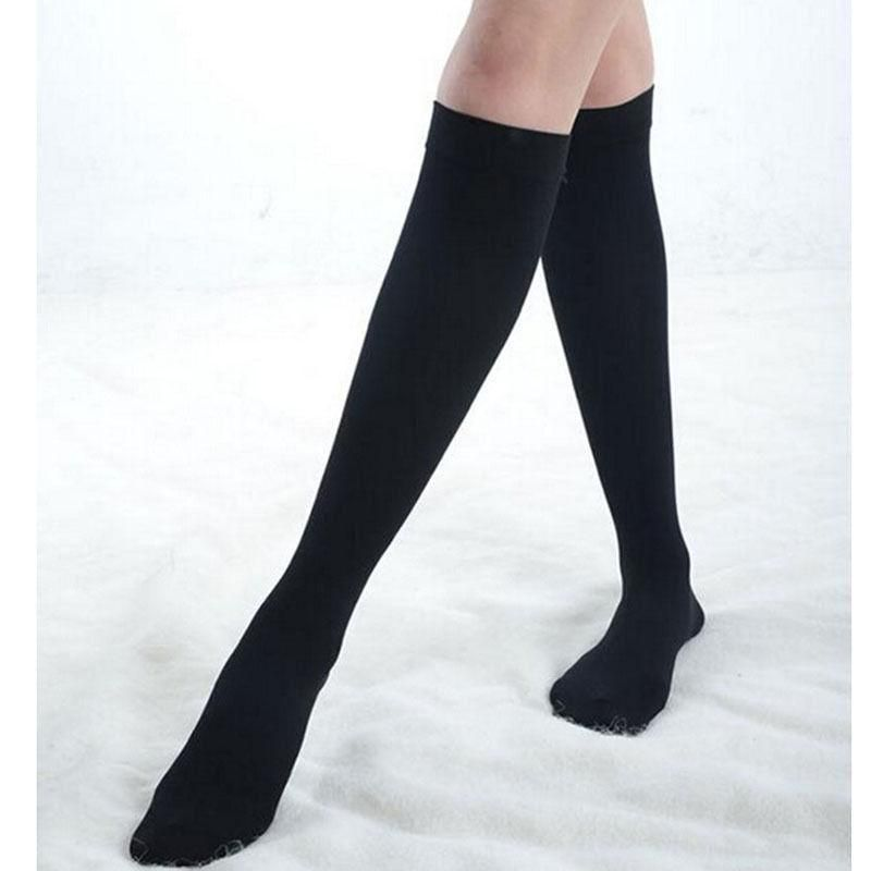 4cf96eec896 Hot Sale Japanese School Student Black Long Sock Women s Over Knee  Longdresskily
