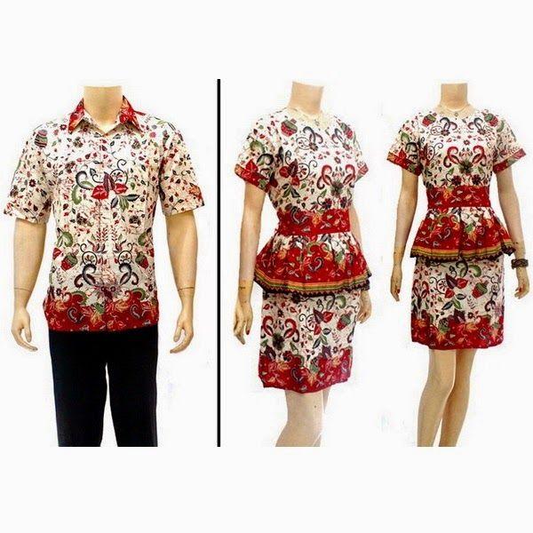 Toko Baju Batik Solo: Toko Batik Online Model Baju Batik Sarimbit Dress Batik