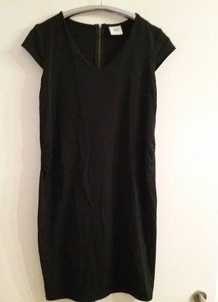 Kaufe meinen Artikel bei #Mamikreisel http://www.mamikreisel.de/fur-die-mami/kleider/36518413-das-kleine-schwarze-umstandskleid