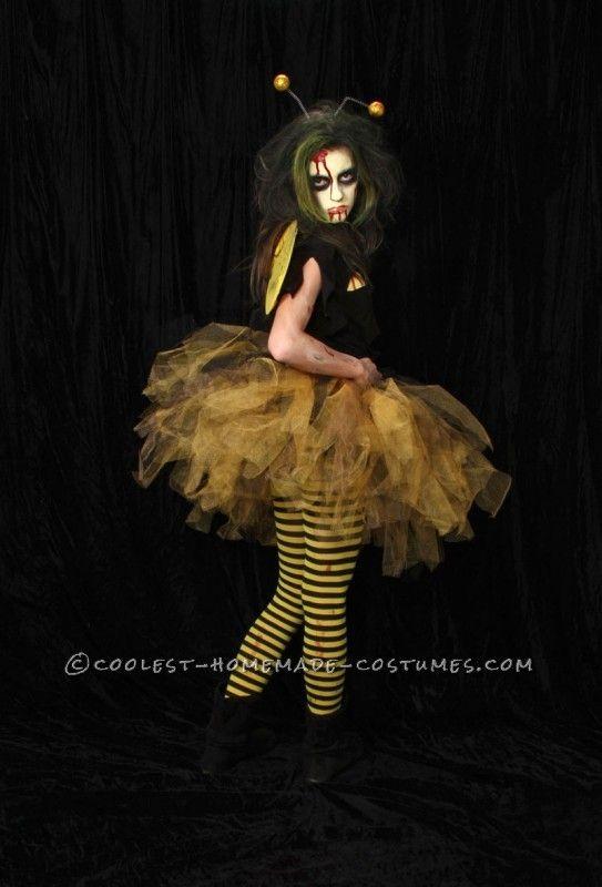 Original zom bee homemade halloween costume homemade halloween original zom bee homemade halloween costume solutioingenieria Images