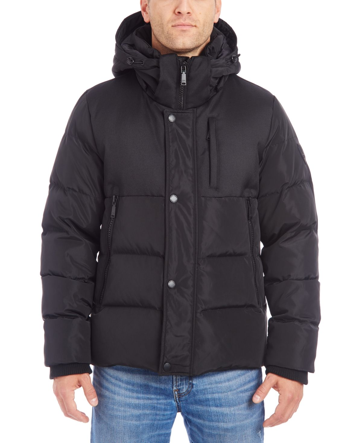 Vince Camuto Men S Hooded Puffer Jacket Reviews Coats Jackets Men Macy S In 2021 Mens Hooded Puffer Jackets Mens Jackets [ 1467 x 1200 Pixel ]