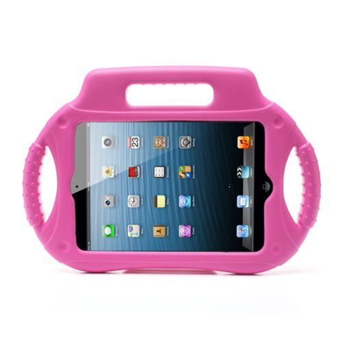 Mesh - iPad Mini 3 Hoes - Kids Cover Pick-Up voor Kinderen Roze | Shop4TabletHoes
