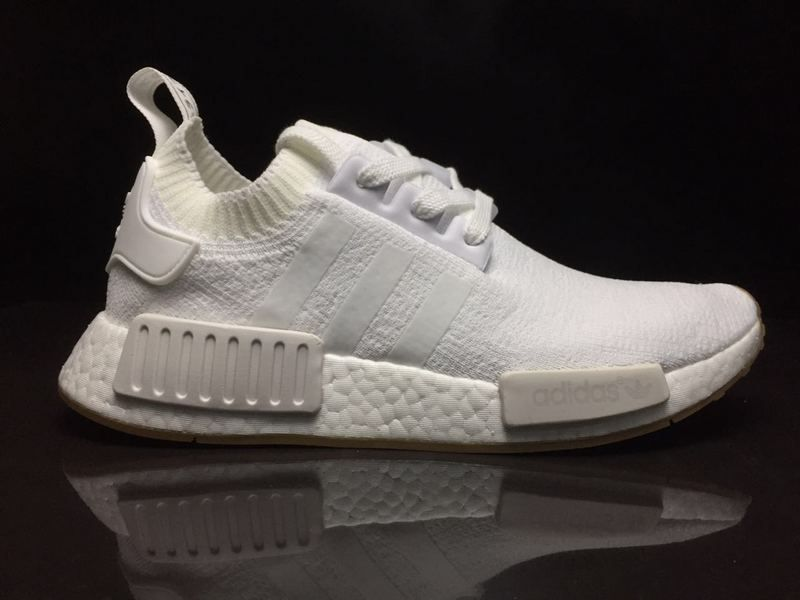 5a8db9d33fe2 Official Adidas NMD R1 PK Gum Pack White BY1888 2018 Online
